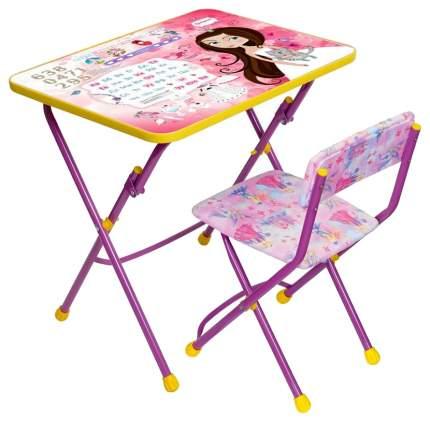 Комплект детской мебели КУ1-17 розовый