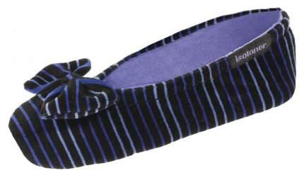 Тапочки детские Isotoner, цв. синий р.27