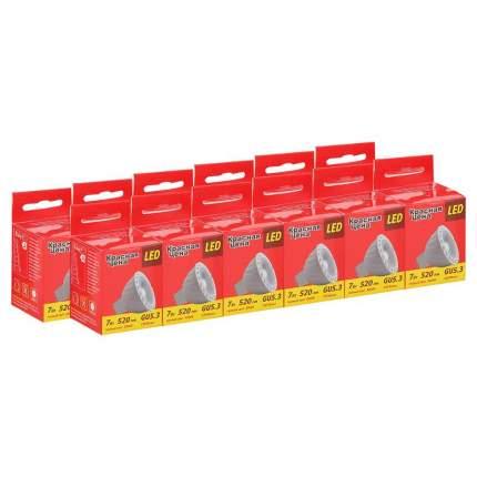 Лампочки Красная цена JCDR 7W GU5.3 3000K 10 шт