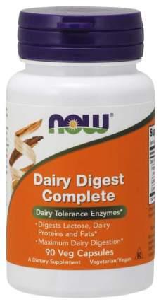 Для пищеварения NOW Dairy Digest Complete 90 капсул