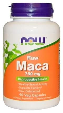 Бустер тестостерона NOW Maca 750 мг 90 капсул