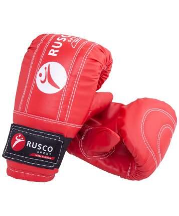 Перчатки снарядные Rusco Sport, кожзам, красно-сине-черный (M)