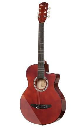 Акустическая гитара COWBOY 3810C RED