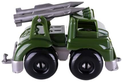 Машинка пластиковая Кнопа Ракетный комплекс Вжух на войнушке 86227PL