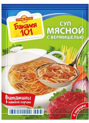 Суп Бакалея 101 мясной с вермишелью 60 г