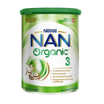 Молочная смесь NAN Organic 3 от года 400 г