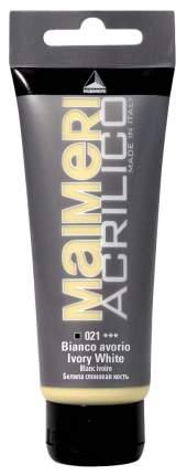 Акриловая краска Maimeri Acrilico M0916021 слоновая кость 75 мл