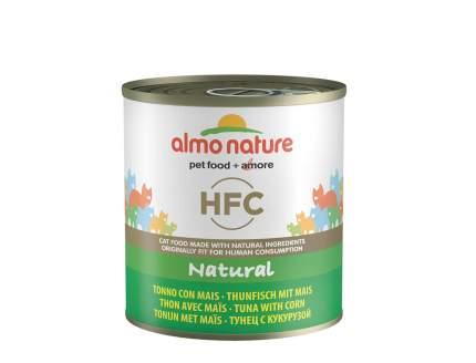 Консервы для кошек Almo Nature HFC Natural, овощи, тунец, 280г