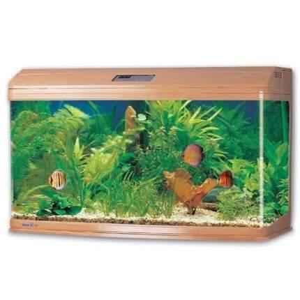 Аквариум для рыб Jebo RA 3126, с изогнутым стеклом, светлое дерево, 289 л