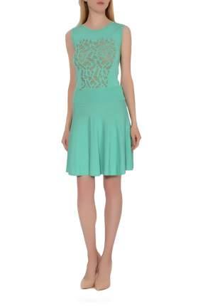Платье женское Oblique зеленое 2