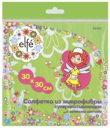 Салфетка Elfe Из микрофибры 300*300 мм Зеленый