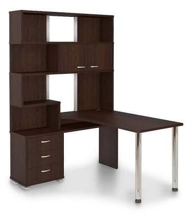 Компьютерный стол Мэрдэс Домино СР-420150 MER_SR-420_150_V-LEV, венге