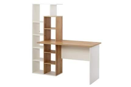 Компьютерный стол Hoff Вентура 80322657, белый/бежевый