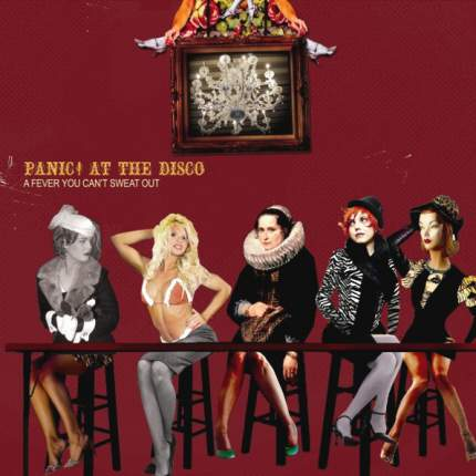 Виниловая пластинка Panic! At The Disco ‎A Fever You Can't Sweat Out (LP)