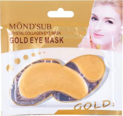 Гидрогелевые патчи с коллагеном MONDSUB Crystal Collagen Gold Eye Mask