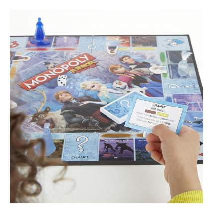 Семейная настольная игра монополия junior «холодное сердце» b2247