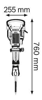 Сетевой отбойный молоток Bosch GSH 16-30 611335100