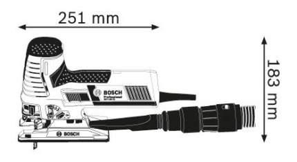 Сетевой лобзик Bosch GST 160 CE 601517000