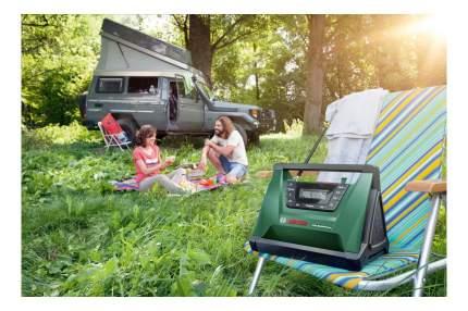Аккумуляторный радиоприемник для стройплощадки Bosch PRA Multipower 06039A9000