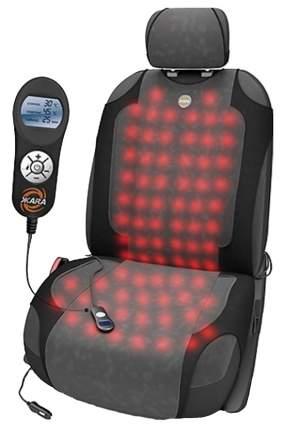 Чехол-майка на сиденье Autoprofi HOT HOT-700 BK/D.GY