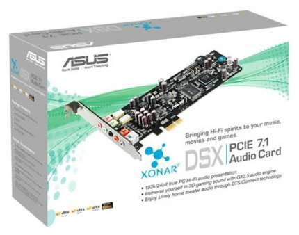 Звуковая карта PCI-E Asus Xonar DSX Retail DSX/ASM