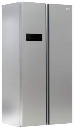 Холодильник Ginzzu NFK-455 Silver/Grey