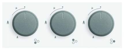 Встраиваемая варочная панель газовая Simfer H45L35W511 White