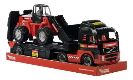 Автомобиль-трейлер и трактор-погрузчик Полесье 57105