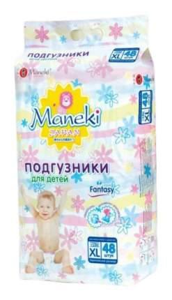 Подгузники Maneki Fantasy XL (12+ кг), 48 шт.