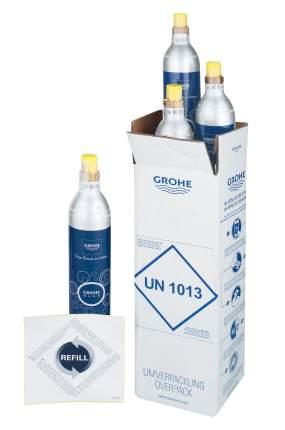 Комплект баллонов с углекислым газом GROHE Blue, 1 шт - 425 гр (4 шт)