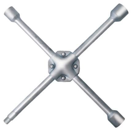"""Ключ балонный крест усиленный 17х19х21 мм + 1/2"""", длина 400 мм 62760"""