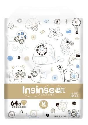 Подгузники INSINSE Q6 (6-9кг) 64 шт. супертонкие M (4)