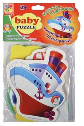 """Мягкий пазл Vladi Toys """"Транспорт"""" 4 шт."""