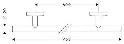 Полотенцедержатель Hansgrohe Logis 40516000