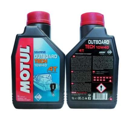 Моторное масло Motul Outboard Tech 4T 10W-30 1л