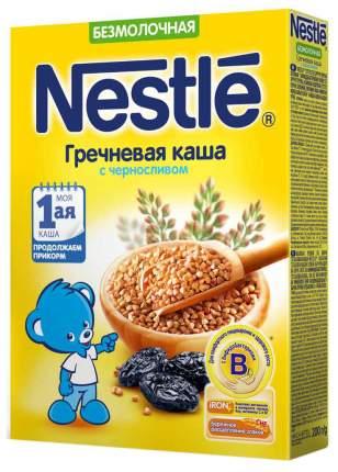 Безмолочная каша Nestle Гречневая с черносливом с 4 мес 200 г