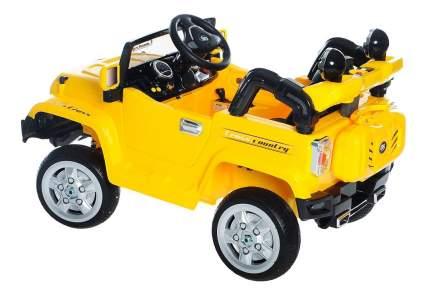 Электромобиль 1TOY Джип желтый т11041