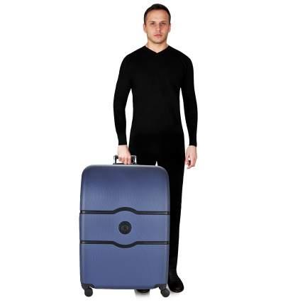 Чемодан Delsey Chatelet hard+ синий XL