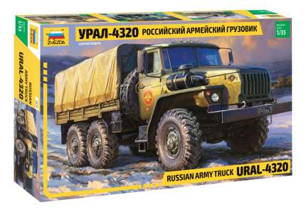 Модели для сборки Zvezda Российский армейский грузовик Урал-4320
