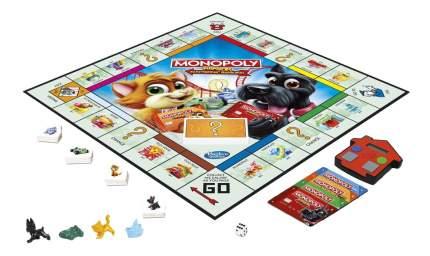 Экономическая настольная игра Hasbro Gaming Монополия Джуниор с карточками