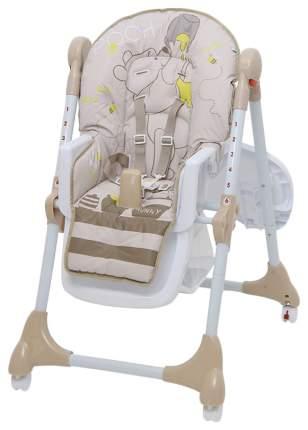 Стульчик для кормления Polini Disney baby 470 Медвежонок Винни и его друзья макиато