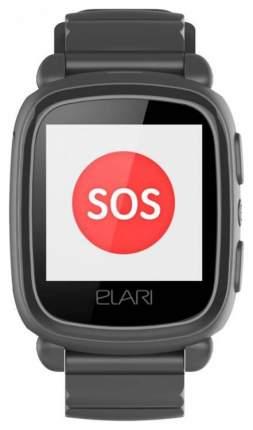 Детские смарт-часы ELARI Kidphone 2 Black/Black