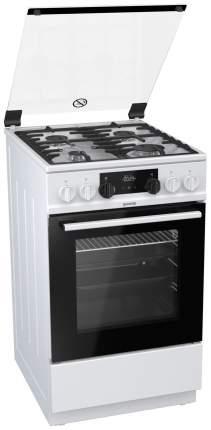 Комбинированная плита Gorenje K5341WF White