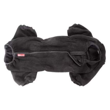 Комбинезон для собак OSSO Fashion размер XL мужской, черный, длина спины 40 см