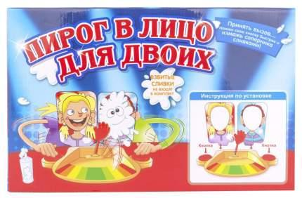 """Настольная игра Family Fun """"Пирог в лицо для двоих"""""""