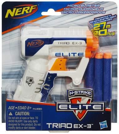 Бластер Hasbro Nerf N-Strike Elite Triad EX-3 A1690E35