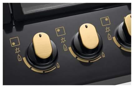 Встраиваемая варочная панель газовая Zanussi GPZ 263 SR Black