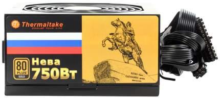 Блок питания компьютера Thermaltake Russian Gold Нева 750Вт W0427RE