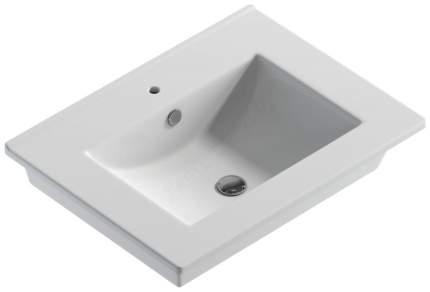 Накладная раковина Sanita Quadro 60 F01 белый