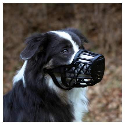 Намордник для собак Trixie Plastic XXL черный